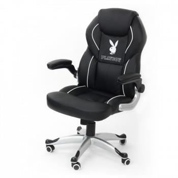 fauteuil de bureau playboy racing f1 achat vente. Black Bedroom Furniture Sets. Home Design Ideas