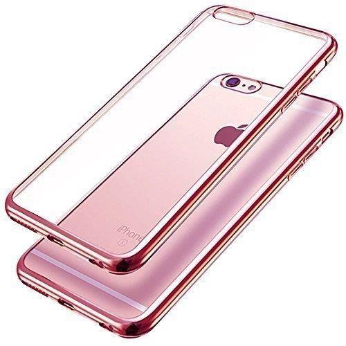 iphone 7 plus coque transparente rose gold flex