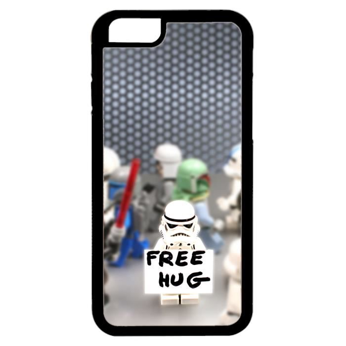 coque iphone 6 4 7 star wars free hug humour achat. Black Bedroom Furniture Sets. Home Design Ideas