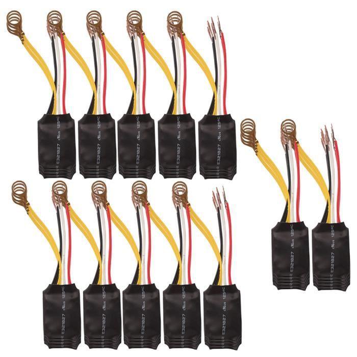 BQLZR Bureau Table clair Pi/¨/¨ces 3 Voies Contr?le Tactile Capteur Ampoule lampe
