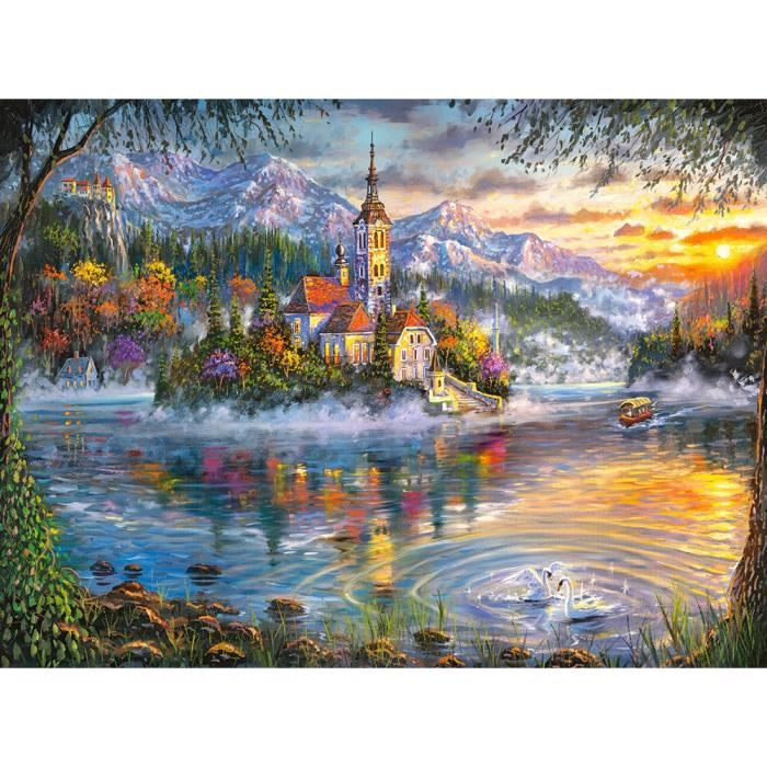 PUZZLE Castorland Fall Splendor, Jigsaw puzzle, Paysage,