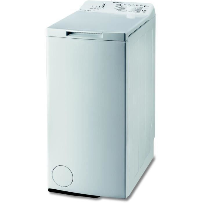 lave linge top indesit itw a 61252 w achat vente lave linge cdiscount