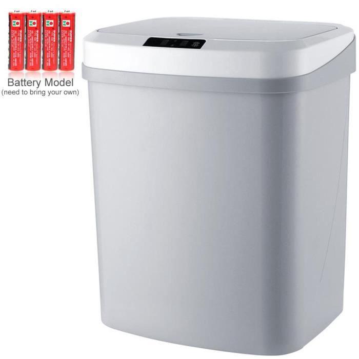 POUBELLE - CORBEILLE LEEGOAL Capteur automatique intelligent poubelle,V