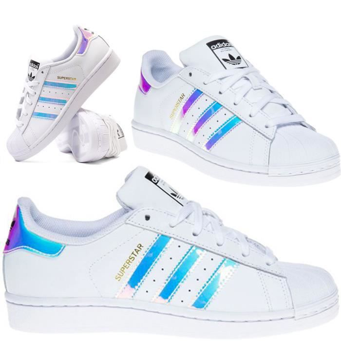 Adidas Originals Superstar Iridescent neon AQ6278