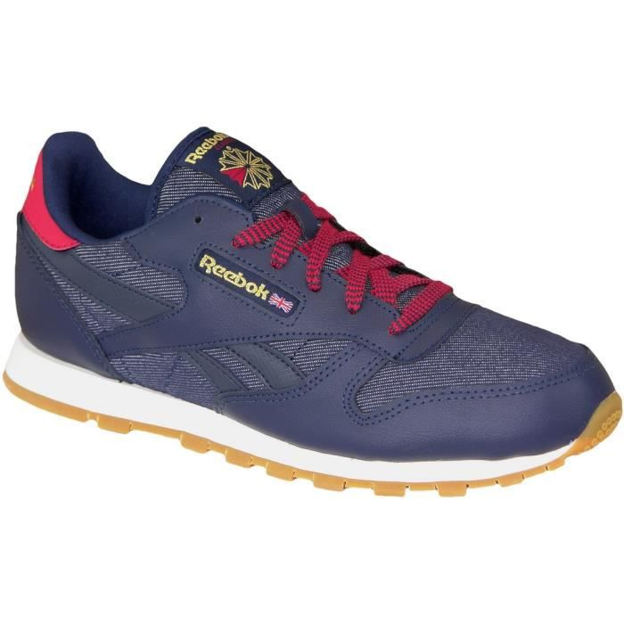 Reebok Classic Leather DGAR2042 Femme Baskets Bleu