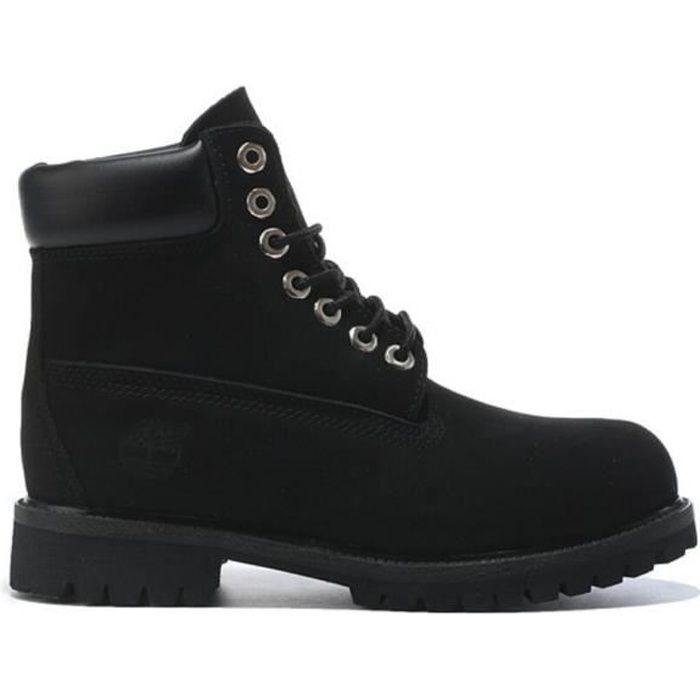 b394d327f48 Timberland Homme Femme Noir Classic 6 inch Nubuck Cuir Ankle Mixte ...
