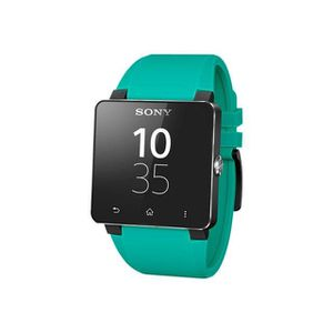 SONY MOBILE EOL Bracelet Smartwatch 2 Silicone - Turquoise