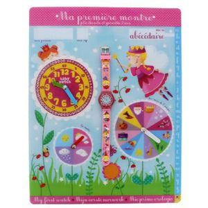MONTRE montre-abc magique bébé montre analogique quartz m