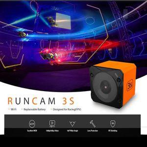 DRONE Runcam 3S WIFI 1080p 60fps WDR 160 degrés Action C
