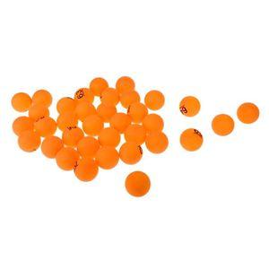 BALLE TENNIS DE TABLE 50x Tennis De Table Balle De Ping-pong Lot De Jeux