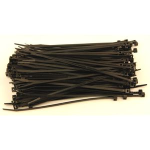 SERRAGE 200 colliers RILSAN 200x4.8 noirs