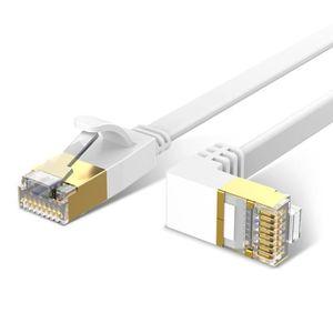 CÂBLE RÉSEAU  ILF® 2M CAT 6 Câble Ethernet RJ45 Câble Réseau Pla