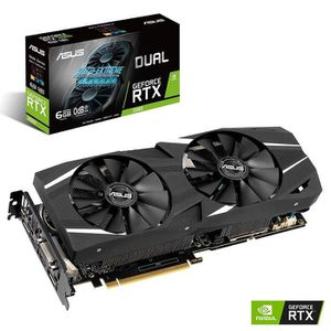 CARTE GRAPHIQUE INTERNE ASUS Carte Graphique DUAL-RTX2060-6G (Nvidia GeFor