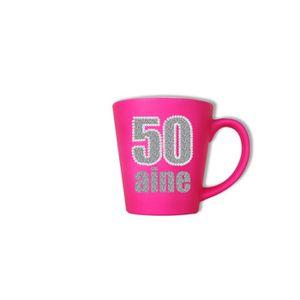 BOL Mug Rose Fluo 50 Ans