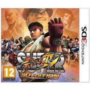 NEW 3DS - 3DS XL Jeu Nintendo 3DS Super Street Fighter IV 4 3D Edit