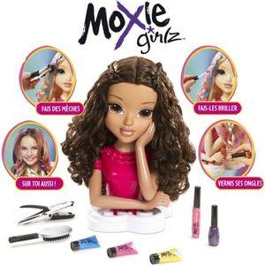COIFFEUR - ESTHÉTIQUE MOXIE GIRLZ Tête à coiffer et à colorer - Sophina