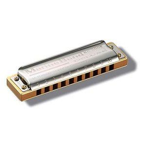 JHS TB10D Le Blues Harmonica majeur diatonique en RE Argent