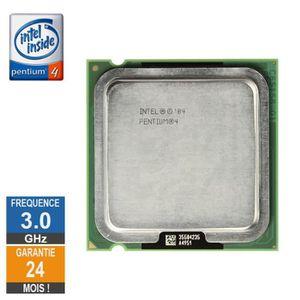 PROCESSEUR Processeur Intel Pentium 4 531 3.00GHz SL9CB LGA77