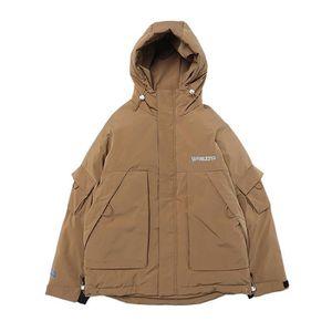 MANTEAU - CABAN Manteau homme de Marque à capuche à manches longue