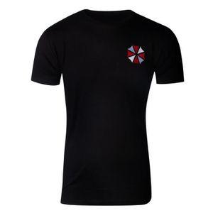 Resident Evil T Shirt Umbrella Logo Official Gamer Mens Black