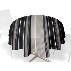 nappe ronde ciree 160 achat vente nappe ronde ciree 160 pas cher cdiscount. Black Bedroom Furniture Sets. Home Design Ideas