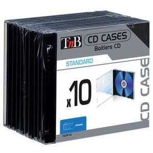 RANGEMENT CD-DVD TNB boitier cd stand supportard x10