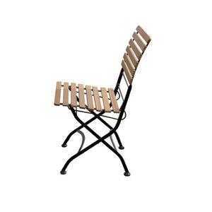 FAUTEUIL JARDIN  Lot de 2 chaises de jardin ou de balcon pliable -