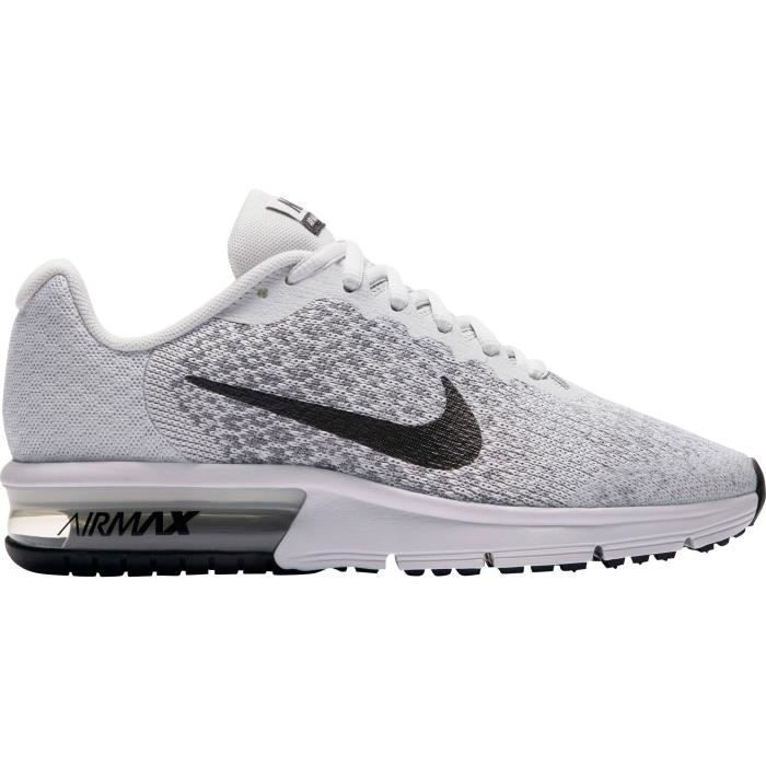 NIKE Chaussures basses Air Max Sequent Enfant mixte Gris