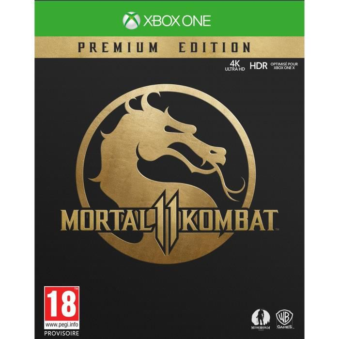 Mortal Kombat 11 Premium Edition Jeu Xbox One