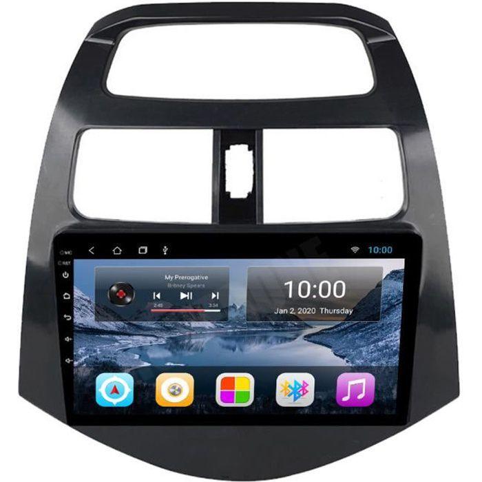 RoverOne Autoradio GPS Bluetooth pour Chevrolet Spark 2010 2011 2012 2013 2014 Android Stéréo Navigation WiFi Écran Tactile