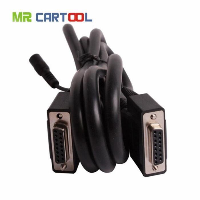 Câble d'extension OBD2 X431 Master GX3, câble de Test principal pour câbles et connecteurs de Diagnostic de voiture [FA6ED31]