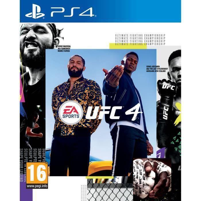 UFC 4 Jeu PS4