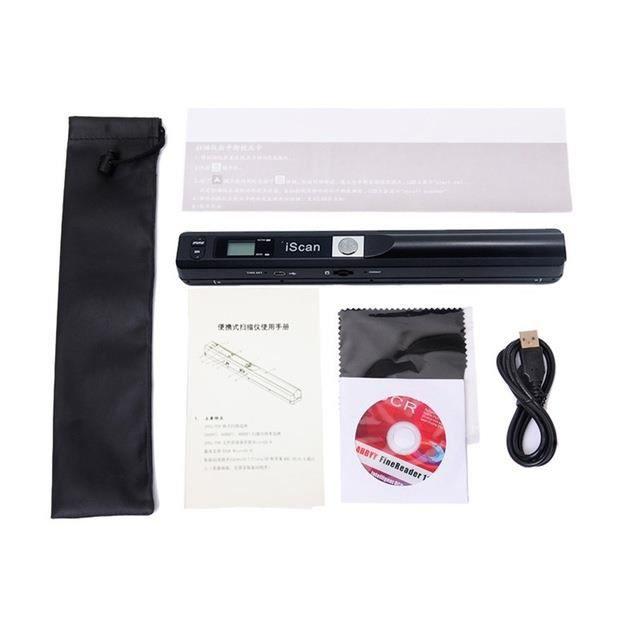 W3520 Scanner portatif de haute définition tenu dans la main de Scanner de stylo de Scanner portatif de petit Scanner
