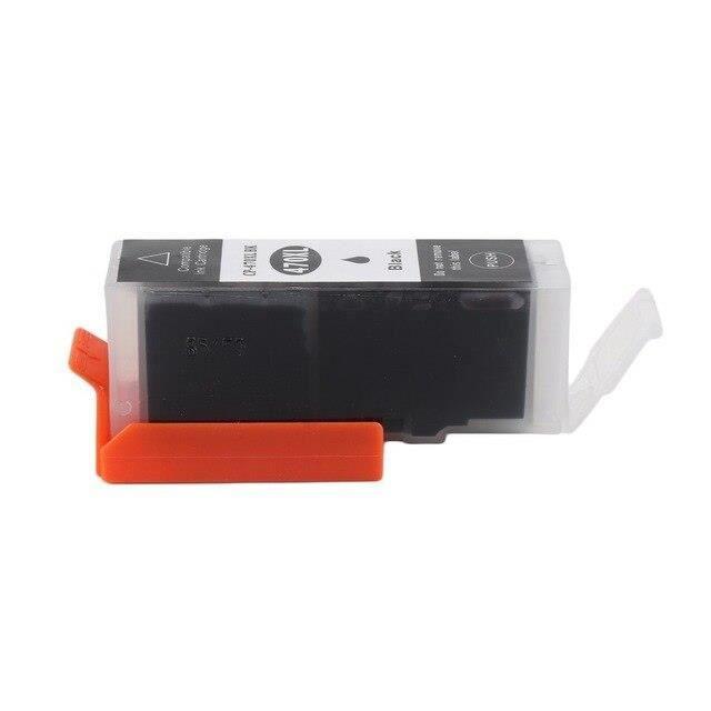 W2286 Cartouche à Jet d'encre sans taches ZSMC accessoire d'imprimante Non remis à neuf Compatible pour CANON PGI 470 CLI 47