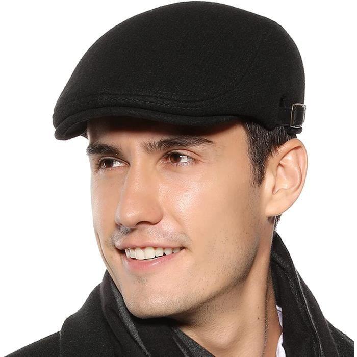 Rétro Béret Homme Femme Réglable Casquette Plate Souple Chapeau Gatsby Gavroche Unisexe Hat Flat Cap Printemps Automne Hiver[905]