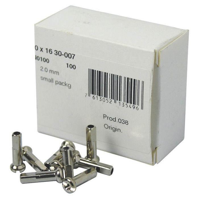 Roues et pneus Accessoires roues Dt Swiss Cable Tips Brass 100 Units