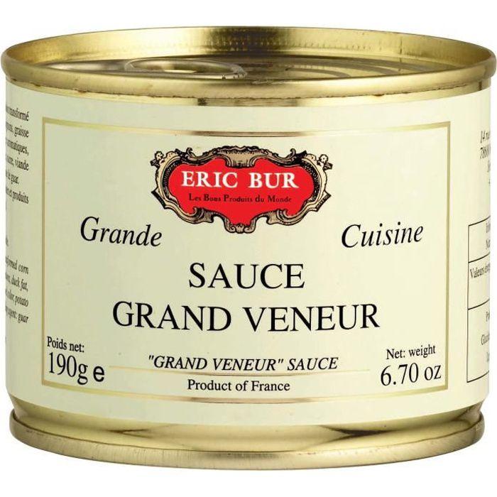 ERIC BUR Sauce Grand Veneur 190g