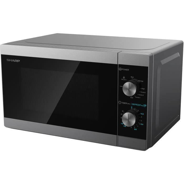 SHARP YC-MG01ES - Four micro-ondes grill 20l puissance 800w - Grill 1000w