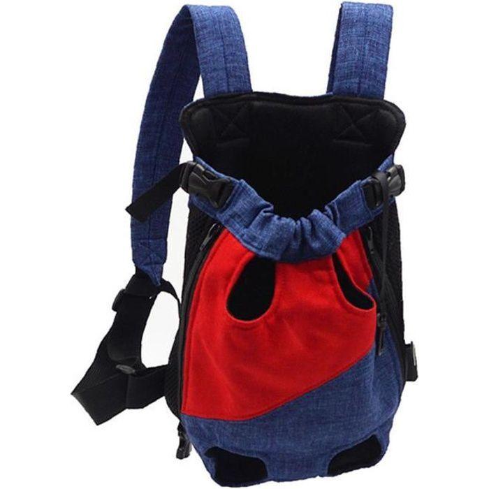 Voyage pour animaux de compagnie sac à dos chien transporteur extérieur sac portable sac de transporteur respirant pour chiens chats