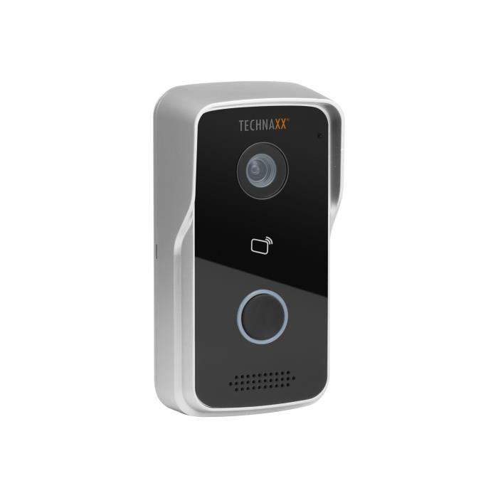 Technaxx TX-82 Smart WiFi Video Door Phone Caméra de surveillance réseau outdoor anti-poussière - étanche couleur (Jour et nuit)…