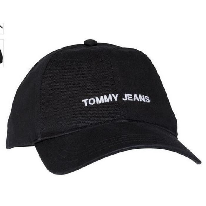 Casquette Homme Tommy Jeans Noir