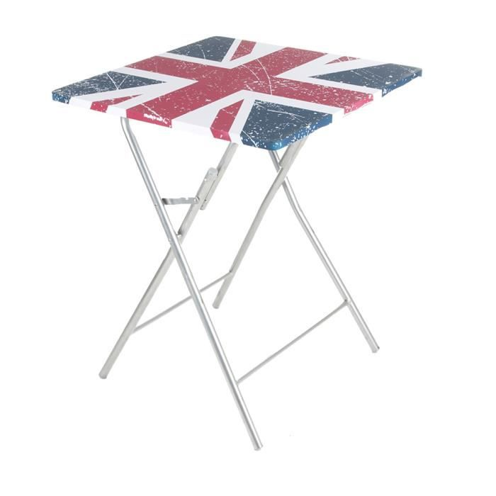 Table pliante london achat vente table murale table for Table pliante murale 4 personnes