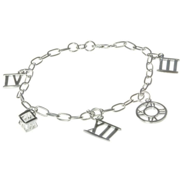 bracelet charms femme argent fin 925 19cm 3mm achat vente bracelet gourmette bracelet. Black Bedroom Furniture Sets. Home Design Ideas