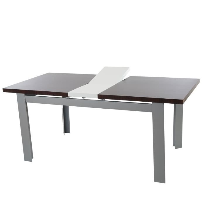 Table de salle manger bristol extensible rallonges for Table extensible salle a manger