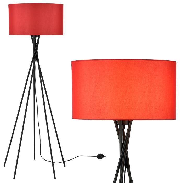 Lampadaire Éclairage de sol Lampe Lampadaire e27 155 cm x Ø 46 cm Lux. Pro