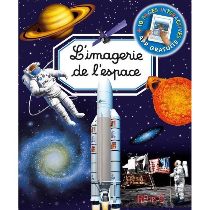 DOCUMENTAIRE ENFANT Livre - l'imagerie de l'espace