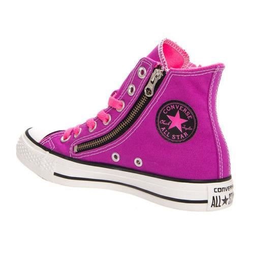 CONVERSE ALL STAR CHUCK TAYLOR LIMITED ZIP CANDY PINK - ROSE IkDug