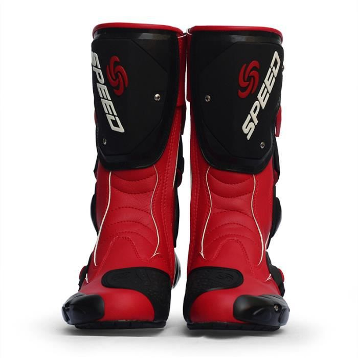 CHAUSSURE - BOTTE Chaussures moto Unisex Hors Route Motard Bottes Mo
