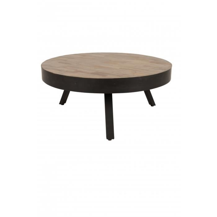 table basse table basse teck recycl et mtal 74