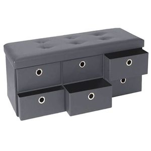 banc avec rangement achat vente pas cher. Black Bedroom Furniture Sets. Home Design Ideas